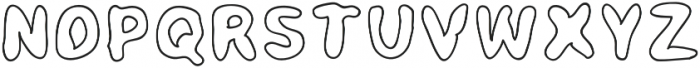 Mayo Kid Regular otf (400) Font UPPERCASE