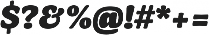 Mayonez Black Italic otf (900) Font OTHER CHARS