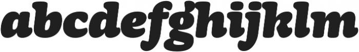 Mayonez Black Italic otf (900) Font LOWERCASE