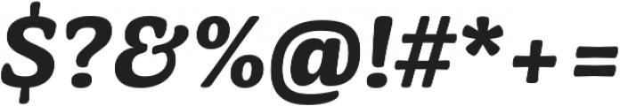 Mayonez Bold Italic otf (700) Font OTHER CHARS