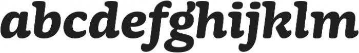 Mayonez Bold Italic otf (700) Font LOWERCASE