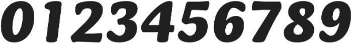 Mayonez Heavy Italic otf (800) Font OTHER CHARS
