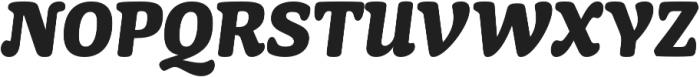 Mayonez Heavy Italic otf (800) Font UPPERCASE