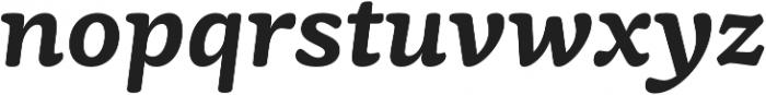 Mayonez SemiBold Italic otf (600) Font LOWERCASE
