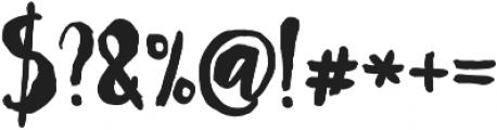 Mayton otf (400) Font OTHER CHARS