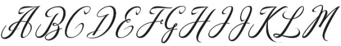 madania script otf (400) Font UPPERCASE