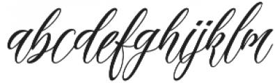 madania script otf (400) Font LOWERCASE