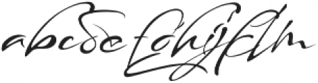 maestro signature alt otf (400) Font LOWERCASE