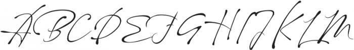 maestro signature otf (400) Font UPPERCASE