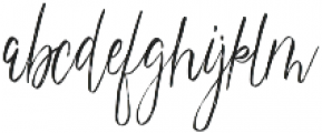 magdalena script otf (400) Font LOWERCASE