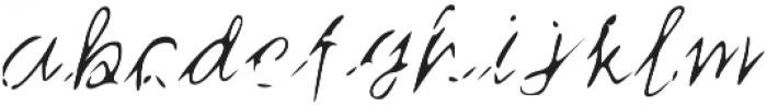 mail_ otf (400) Font LOWERCASE