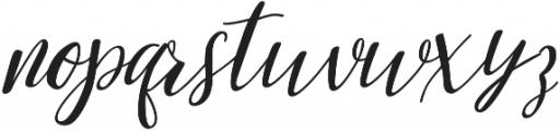 mandarina otf (400) Font LOWERCASE