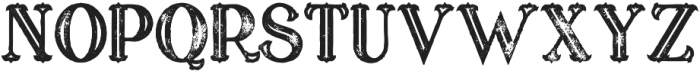 marin bold inline grunge otf (700) Font UPPERCASE