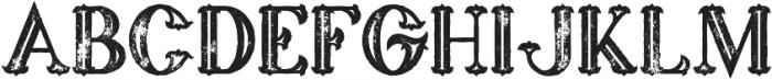 marin bold inline grunge otf (700) Font LOWERCASE