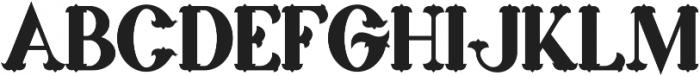 marin bold otf (700) Font UPPERCASE