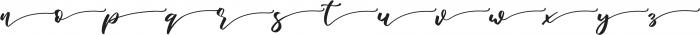 marlita ending otf (400) Font LOWERCASE