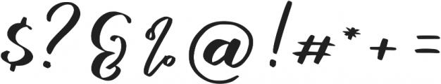 marlita otf (400) Font OTHER CHARS