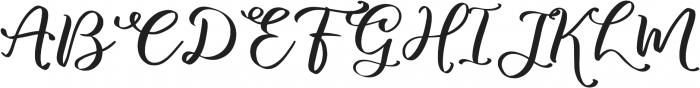 marlita otf (400) Font UPPERCASE