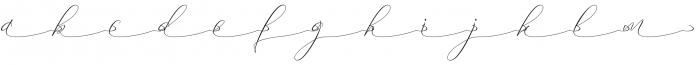 marta anthoni swash 1 otf (400) Font LOWERCASE