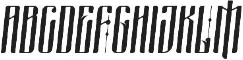masquerouge italic otf (400) Font UPPERCASE
