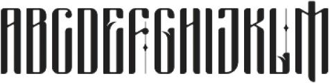 masquerouge otf (400) Font UPPERCASE