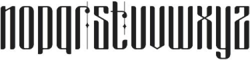 masquerouge otf (400) Font LOWERCASE