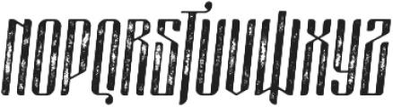 masquerouge rough italic otf (400) Font UPPERCASE