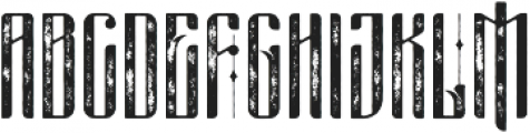 masquerouge rough otf (400) Font UPPERCASE