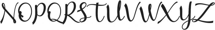 mathilda Regular ttf (400) Font UPPERCASE