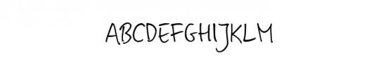Magdalena Script Font UPPERCASE