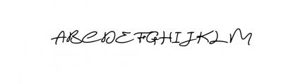 Magic Anomali Font UPPERCASE