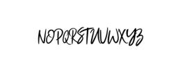 Magistoe Font UPPERCASE