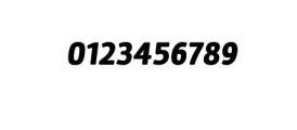 Maine Neue-Black Italic.otf Font OTHER CHARS