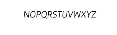 Maine Neue-Light Italic.otf Font UPPERCASE