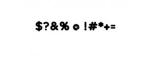 Maleo Extended Bold.otf Font OTHER CHARS