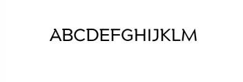 Maleo Medium.otf Font UPPERCASE