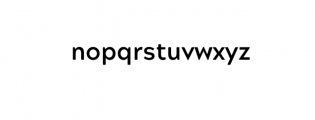Maleo Sans Bold.otf Font LOWERCASE