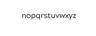 Maleo Sans Regular.otf Font LOWERCASE