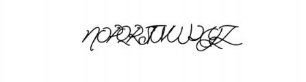 Manallagi Font UPPERCASE