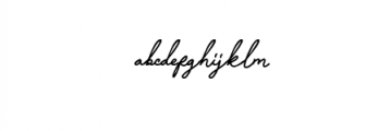 Manallagi Font LOWERCASE