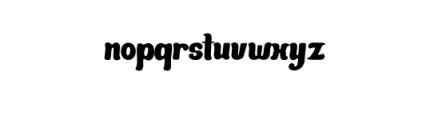 Mandarin-Bold.otf Font LOWERCASE