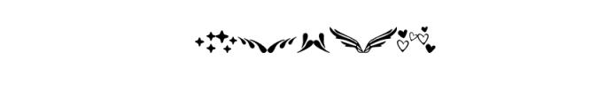 Mandarin-Ornaments.otf Font OTHER CHARS
