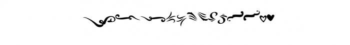 Mandarin-Ornaments.otf Font UPPERCASE