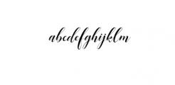 Mangifera-preview Font LOWERCASE