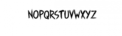 Manticore Typeface Font LOWERCASE