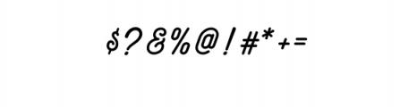 Maretha Script.otf Font OTHER CHARS