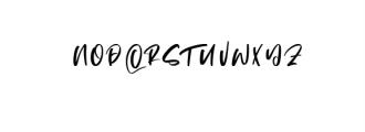 Matsuyama.ttf Font UPPERCASE