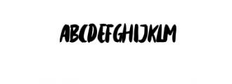 Mattsolar.otf Font LOWERCASE
