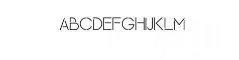 Maxellight-Light-Condensed.otf Font UPPERCASE