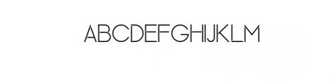 Maxellight-Light.otf Font UPPERCASE
